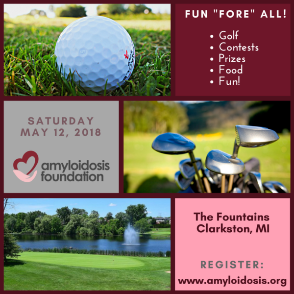 Golf to Support the Amyloidosis Foundation